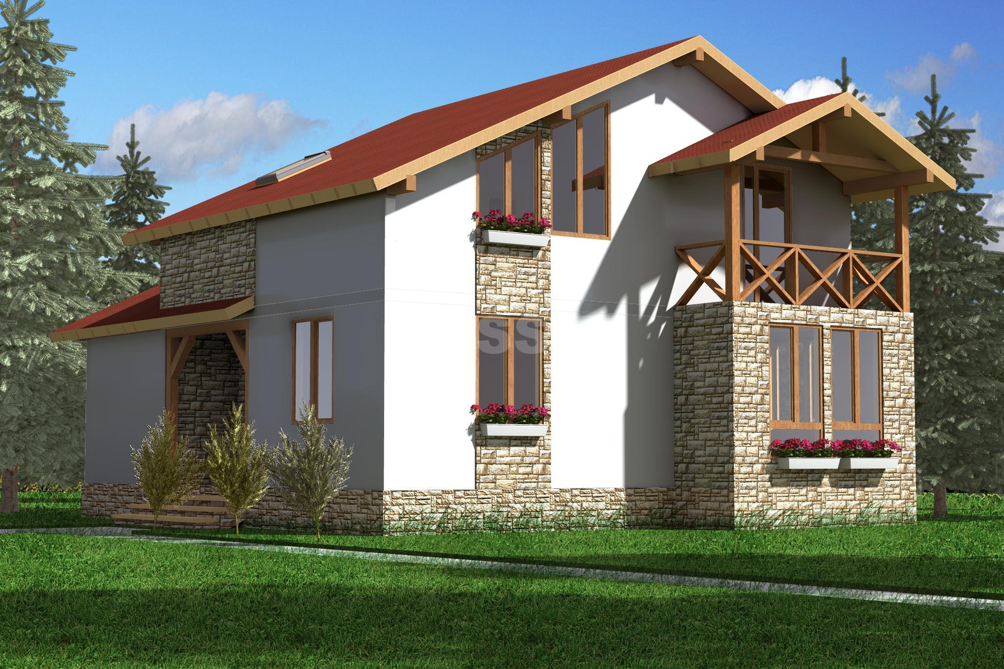 Проект СИП дома Альпийский
