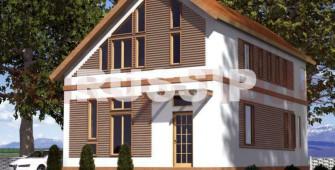 Проект дома из СИП панелей Омега