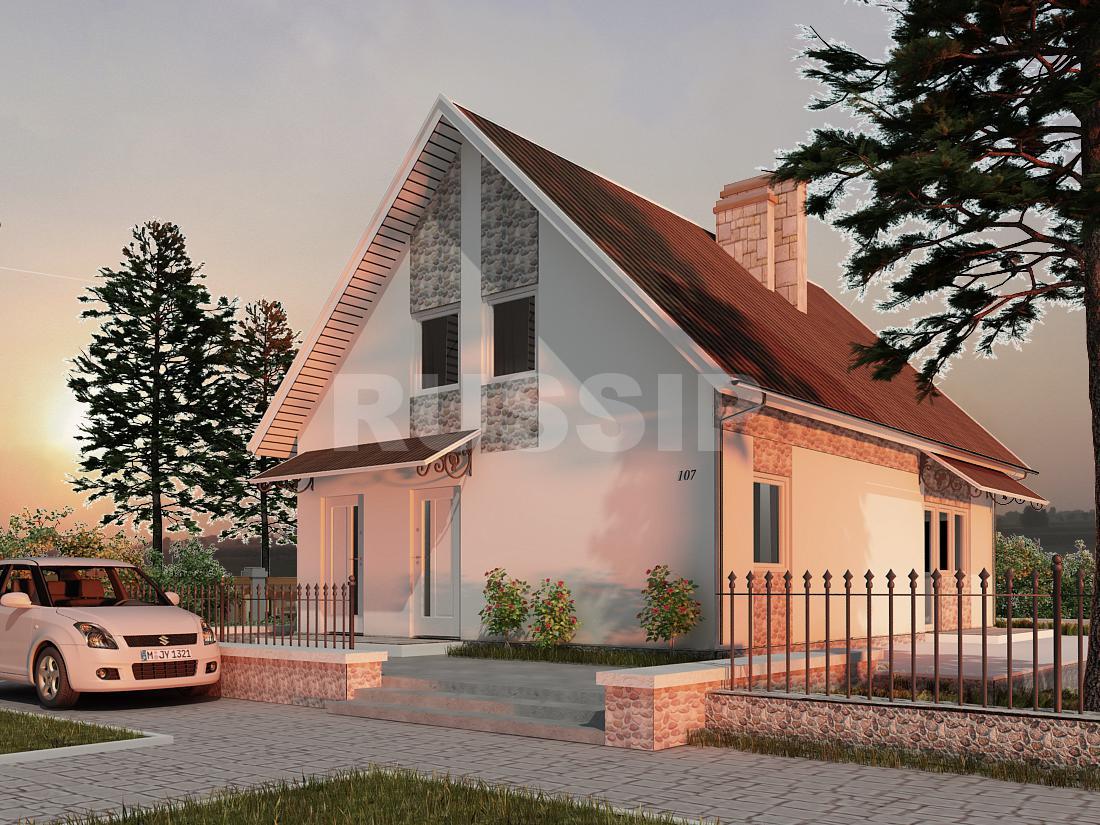 Проект СИП дома Карелия