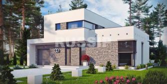 Проект дома из СИП панелей Хронос