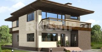 Проект дома из СИП панелей Колумбия
