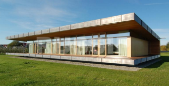 Проект дома из СИП панелей Наутилус