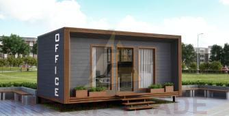 Проект дома из СИП панелей СИП-БОКС офис