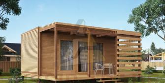 Проект дома из СИП панелей СИП-БОКС жилой