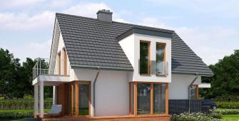 Проект дома из СИП панелей Белфаст