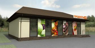 Проект дома из СИП панелей Магазин №5