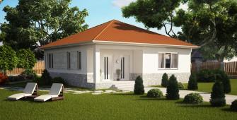 Проект дома из СИП панелей Тарас