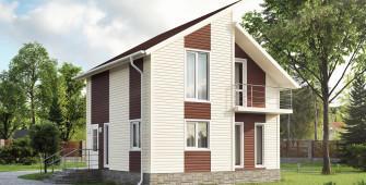 Проект дома из СИП панелей Вустер