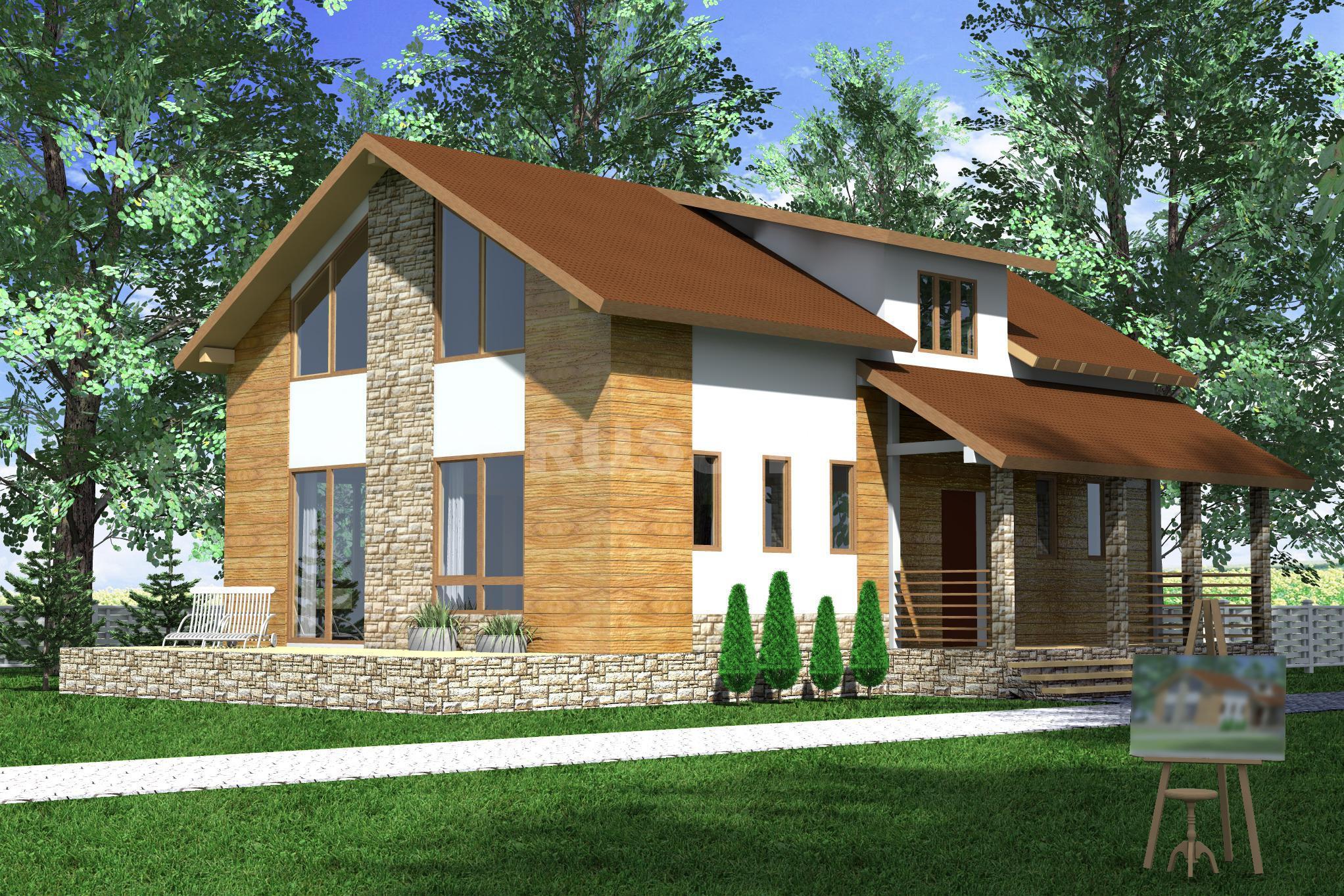 Проект СИП дома Атлант