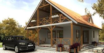 Внешний вид дома