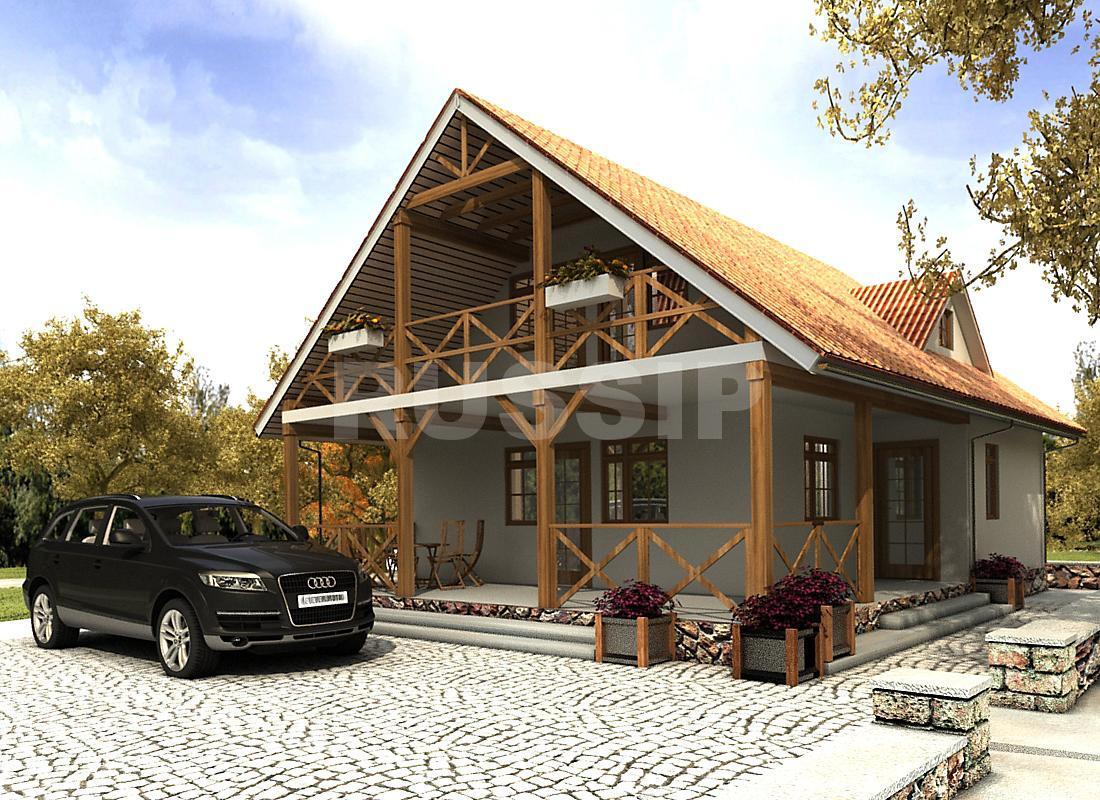 Проект СИП дома Бавария