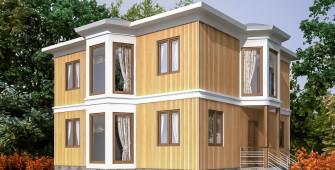 Проект дома из СИП панелей Болейн