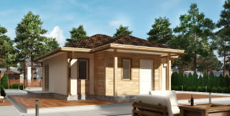 Проект дома из СИП панелей Федра