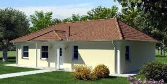 Проект дома из СИП панелей Санта-Роза