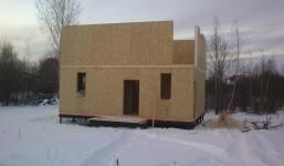 Пермь. Дом по проекту Прима 115 м.кв. с полноценным вторым этажом, 2014 г